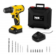 Perceuse-visseuse sans fil - 1 500 tr/min - 30 Nm - 1 batterie incluse dans le kit