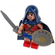 LEGO Wonder Woman Minifigure with Cape and Hood - Movie Variant 2017