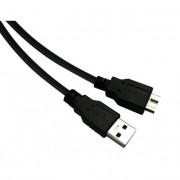 USB 3.0 - Micro USB 3.0 kábel, 0,5 m, SANDBERG
