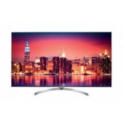 LG Smart Tv 55SJ810V Led 55'' 4K Super Ultra HD Dvb-T2 HEVC Classe A+ WiFi Hdmi Usb CI+ Silver Bianco- 2017 - NANO CELL - ZERO ORE