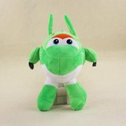 Super Wings Mini Airplane ABS Robot Super Wing Transformation Jet Animation Plush Toy