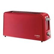 Bosch CompactClass TAT3A004 - Grille-pain - 2 tranche - 1 Emplacements - rouge/gris clair