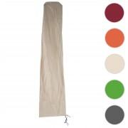 Schutzhülle Meran für Marktschirm bis 5m, Abdeckhülle Cover mit Reißverschluss ~ Variantenangebot