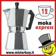 MOKA ESPRESSO CAFFETTIERA ESPRESSO DODICI TAZZE