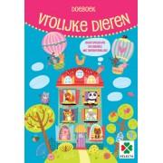 Selecta hobbyboek Vrolijke dieren junior 30 x 21 cm papier