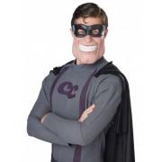 Vegaoo Halbmaske Superheld für Erwachsene