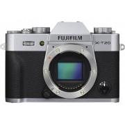 Fujifilm Systemkamera Fujifilm X-T20 24.3 Megapixel Svart-silver 4K-video, Full HD Video, Elektronisk sökare, WiFi