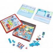 HABA Magnetic Game Set Zippy Cars 301948
