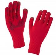 Sealskinz Ultra Grip Gloves - Red/Black - L - Red/Black