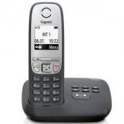 Безжичен DECT телефон Gigaset A415A, Черен, 1015115