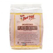 COCONUT FLAKES (Unsweetened & Unsulfured) (12oz) 340g