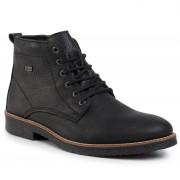 Обувки RIEKER - 33641-00 Schwarz