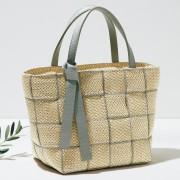 リボンメッシュのハンドバッグ アルマ トヌッティ プラチナム バッグ 【ライトアップショッピングクラブ】