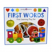 Priddy Books First Words First Learning Play Set - Ages 0-5 - Board Book - Priddy Books