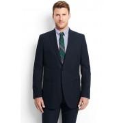 ランズエンド LANDS' END メンズ・ヘザーコットン・テーラード・ジャケット(ネイビーブロークンツイル)