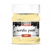 Pentart Matt tejeskávé színű akril bázisú hobbi festék 230 ml 3230