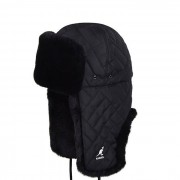Kangol Quilted Trapper K4374 BLACK