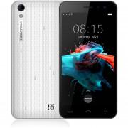 """Smartphone Libre Homtom HT16 (3G Android 6.0 1.3GHz 5"""" Quad Core 8GB) Desbloqueado-Blanco EU Plug"""
