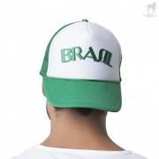 CA-RIO-CA Brazil Two Tone Trucker Hat Kelly Green CRC-H1020
