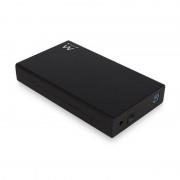 """Ewent Caixa Disco Duro SATA de 3.5"""" sem Parafusos USB 3.1"""