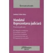 Mandatul. Reprezentarea Judiciara - Luminita Cristina Stoica