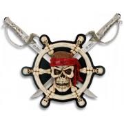 Arme épées épée + socle - Squelette Pirate des caraïbes