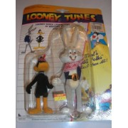 Looney Tunes Western Daffy Duck and Bugs Bunny 1989 Figure