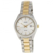 Casio Enticer Analog Silver Dial Womens Watch - LTP-1302SG-7AVDF (A478)