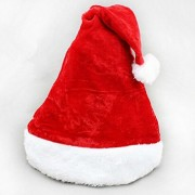 PartyHut Christmas Hat Decoration Christmas Cap Santa Elf Fancy Dress Costume Accessory Xmas Party Hat 3 orders Pack of 1