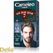 Krema za bojenje kose, brade i brkova CAMELEO MEN svetlo smeđa 5.0
