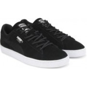 Puma SUEDE CLASSIC MESH FS IDP Sneakers For Men(Black)