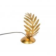 QAZQA Lampa stołowa vintage mała złota - Botanica