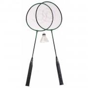 Amigo badmintonset Ch@t staal groen 4-delig