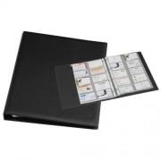Rillstab Visitekaartenringband Rillstab 18640 A4 Kunststof Zwart