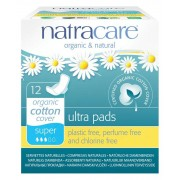 Super Ultra Natural Pads with Wings 12 Pk