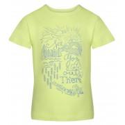 ALPINE PRO MATTERO 2 Dětské triko KTSR239552PC francouzká zelená 92-98