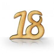 Drevené číslo (veľké)