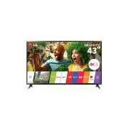 Smart TV LED 43 Ultra HD 4K, Wi-Fi, Painel IPS, HDMI, USB - LG 43UJ6300