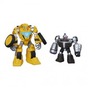 Playskool Heroes Transformers Rescue Bots Bumblebee and Morbot Figure Pack