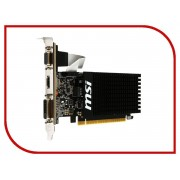 Видеокарта MSI GeForce GT 710 954Mhz PCI-E 2.0 2048Mb 1600Mhz 64 bit DVI HDMI HDCP GT 710 2GD3H LP
