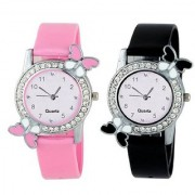 R P S fashion new collation BF model combo pack of 2 girl watch