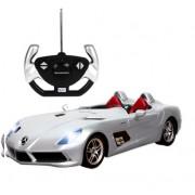 Masina cu telecomanda Rastar Mercedes Benz SLR McLaren 1:12 - Gri