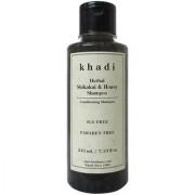 Khadi Herbal Shikakai Honey Shampoo SLS-Paraben Free - 210ml
