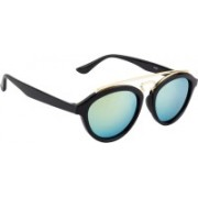 NuVew Oval Sunglasses(Green)
