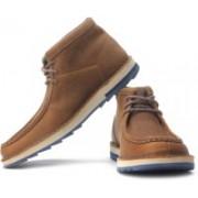 Clarks Mumford Folk Boots For Men(Blue, Beige, Brown)