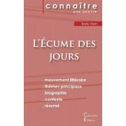 Fiche de lecture L'Ecume des jours (Analyse littraire de rfrence et rsum complet), Paperback/Boris Vian