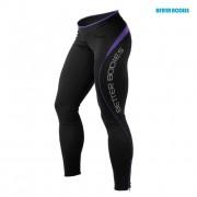 Better Bodies Fitness Long Tights L Black/Purple