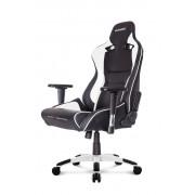 AKRacing ProX Gaming Chair White Ергономичен геймърски стол