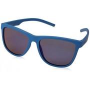 Polaroid PLD 6014/S Lentes de Sol, Adultos, color Azul, Ancho Lente 56/Largo Varilla 141