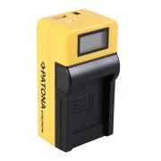 Patona Incarcator USB cu LCD pentru Canon NB-6L cu Adaptor Auto